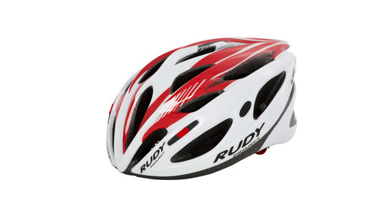 Rudy Project Zumax Helm white/red shiny